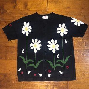 🦄Medium Quacker Factory Button Down Sweater